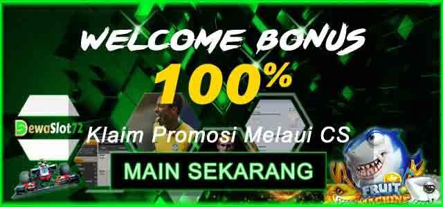Welcome Bonus 100%
